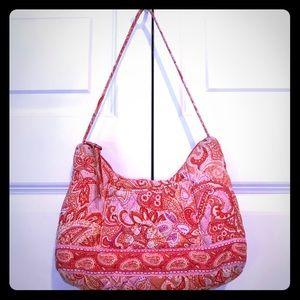 Small Vera Bradley peach orange purse